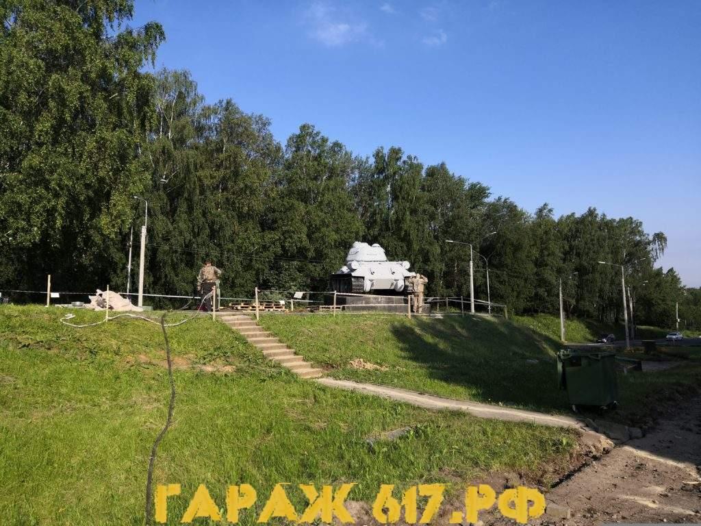 танк т34 смоленск